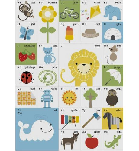 alfabetsaffisch abc-affisch affisch poster illustration grafisk design grafisk formgivning designbyrå reklambyrå stockholm lidingö