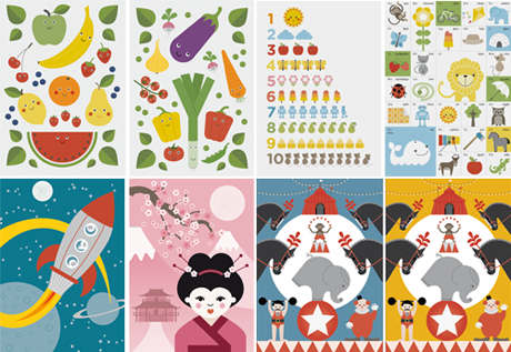 illustrationer grafisk formgivning affischer poster designbyrå reklambyrå stockholm lidingö