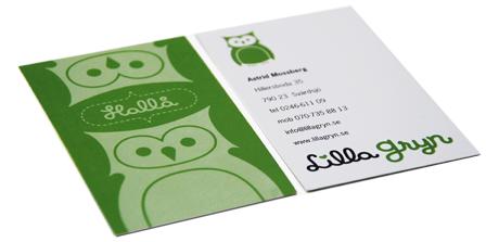 visitkort grafisk identitet grafisk profil grafisk design formgivning designbyrå reklambyrå stockholm lidingö
