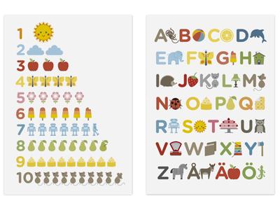 affisch pedagogisk läromedel designbyrå stockholm grafisk formgivning formgivare design