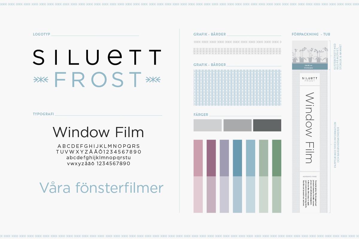 grafisk profil till inrednings varumärke designbyrå reklambyrå Stockholm Lidingö grafisk designer