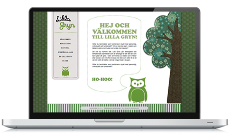 Webdesign hemsida i wordpress