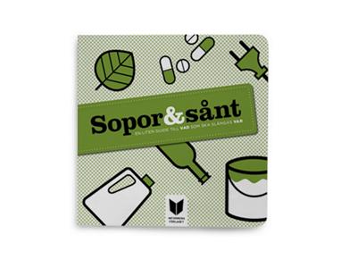 broschyr återvinning illustration symboler ikoner pictogram designbyrå stockholm grafisk formgivning formgivare design