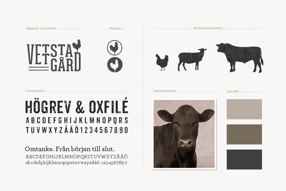 logotyp grafisk profil grafisk identitet gård förpackningsdesign livsmedel designbyrå reklambyrå stockholm lidingö designer formgivare