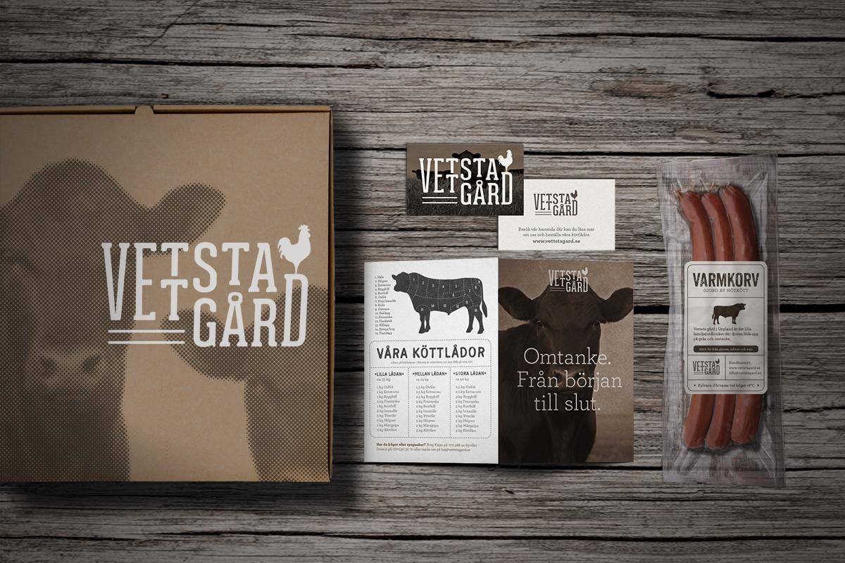 logotyp grafisk profil grafisk identitet gård förpackningsdesign livsmedel designbyrå reklambyrå stockholm lidingö  företagsprofil formgivning designer