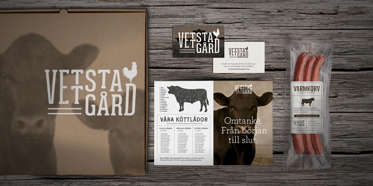 ekologisk gård mat logotyp, grafisk identitet, grafisk profil, visuell identitet, företagsprofil, designbyrå, reklambyrå, stockholm, lidingö, formgivning, design,